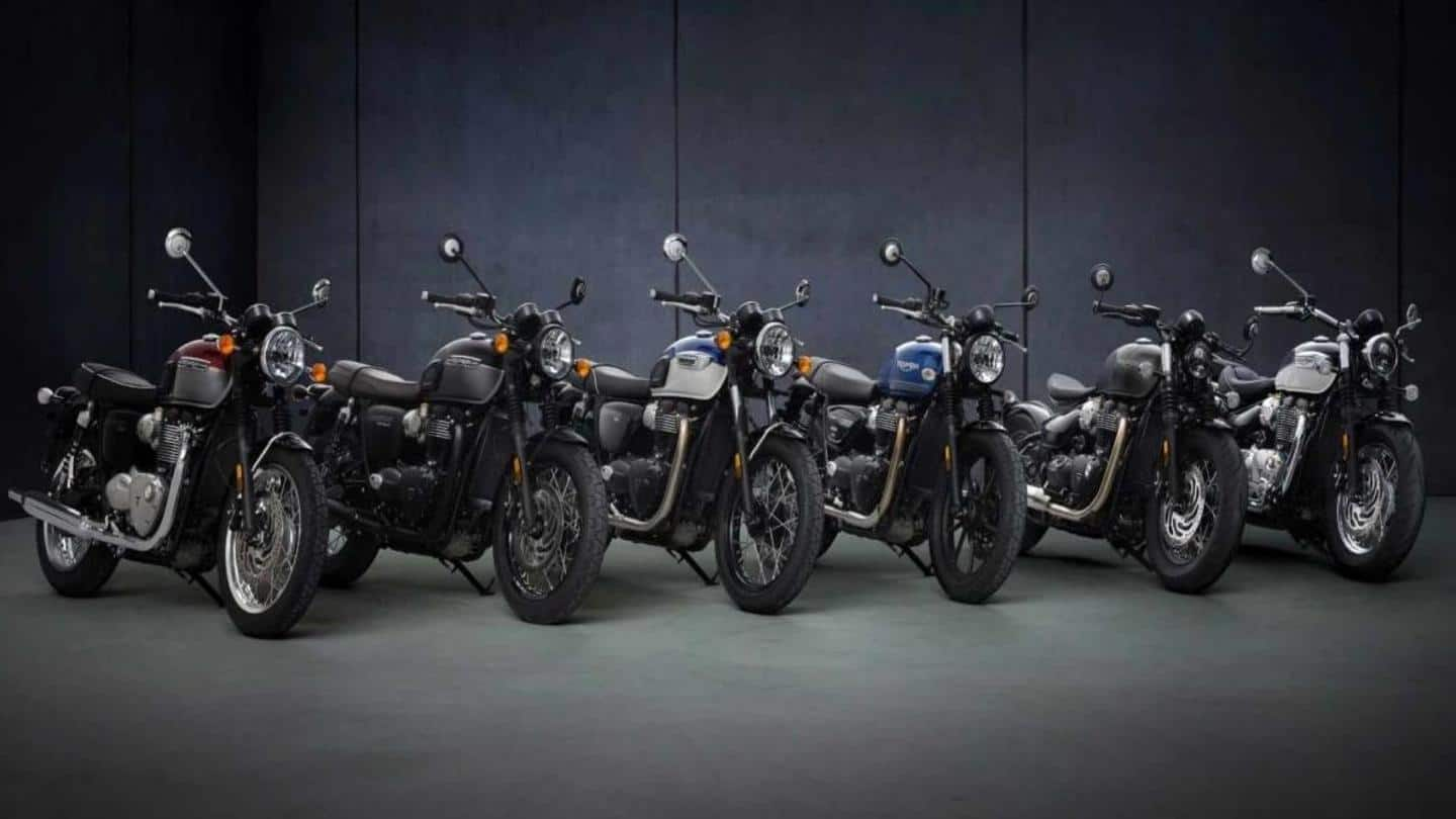 2021 Triumph Bonneville range of motorcycles unveiled: Details here
