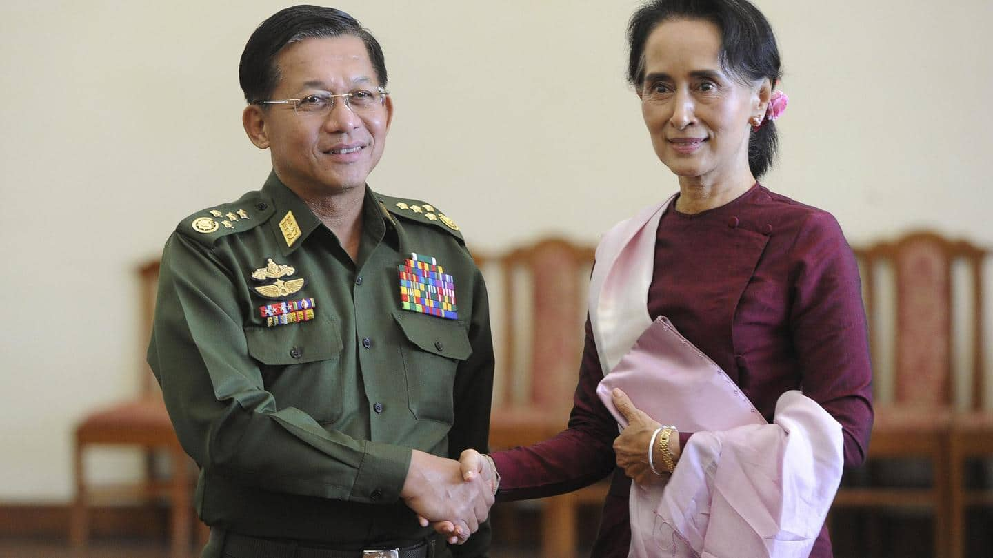 NewsBytes Briefing: Myanmar joins Trump in naughty corner, and more