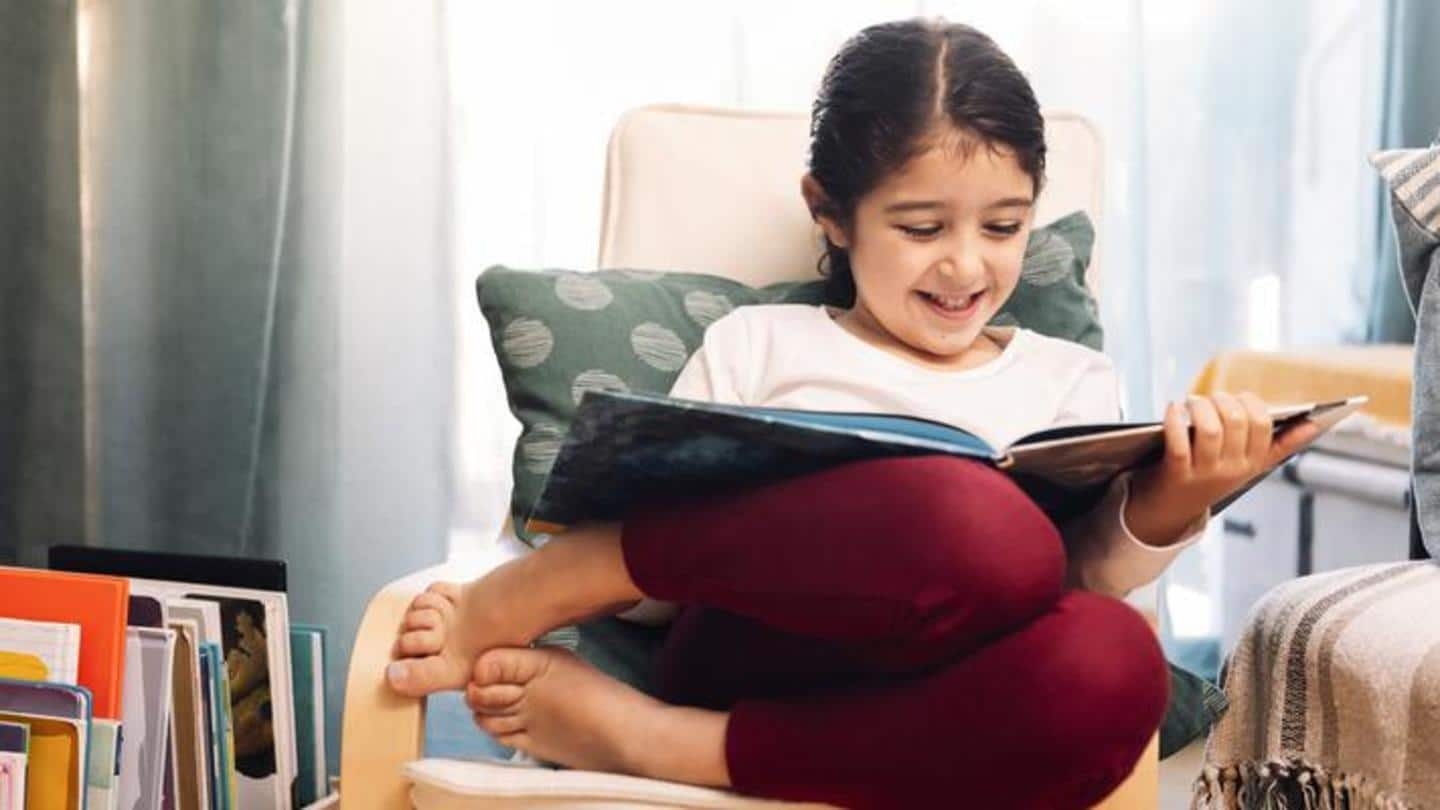 Inculcate a healthy habit in them like reading books