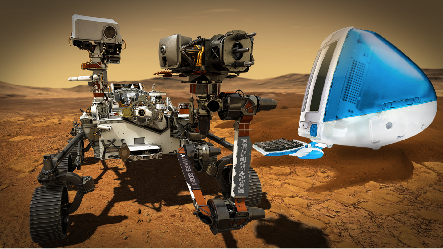 NASA's Perseverance rover powered by processors used in 90s' iMacs