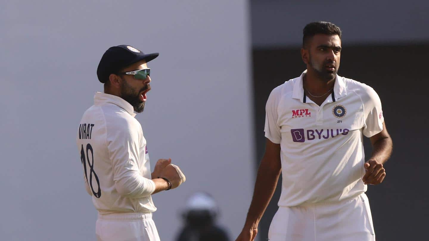 Ashwin gets past 75 wickets against England