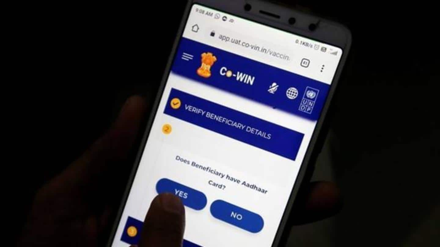 Co-WIN app is for administrators only, Health Ministry clarifies