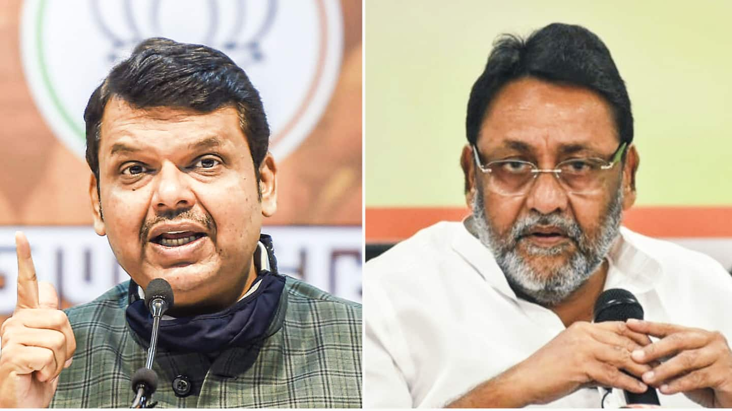 NCP hits back at BJP; says Fadnavis is 'misleading' people