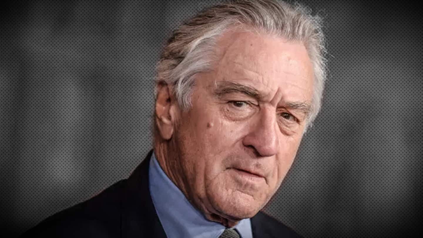 De Niro harassing woman who accused him of sexual intimidation?