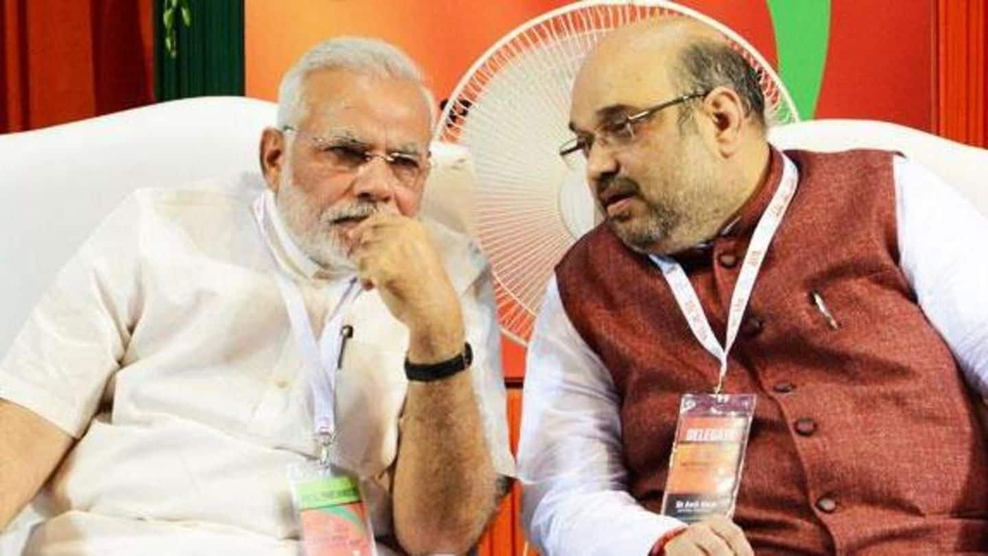 Modi, Shah launch a fresh attack on Congress from MP