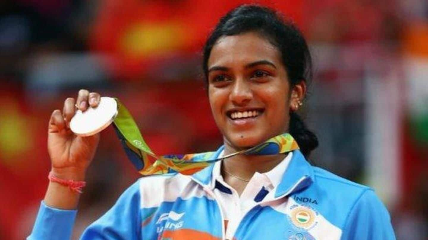 How much does PV Sindhu earn in a year?
