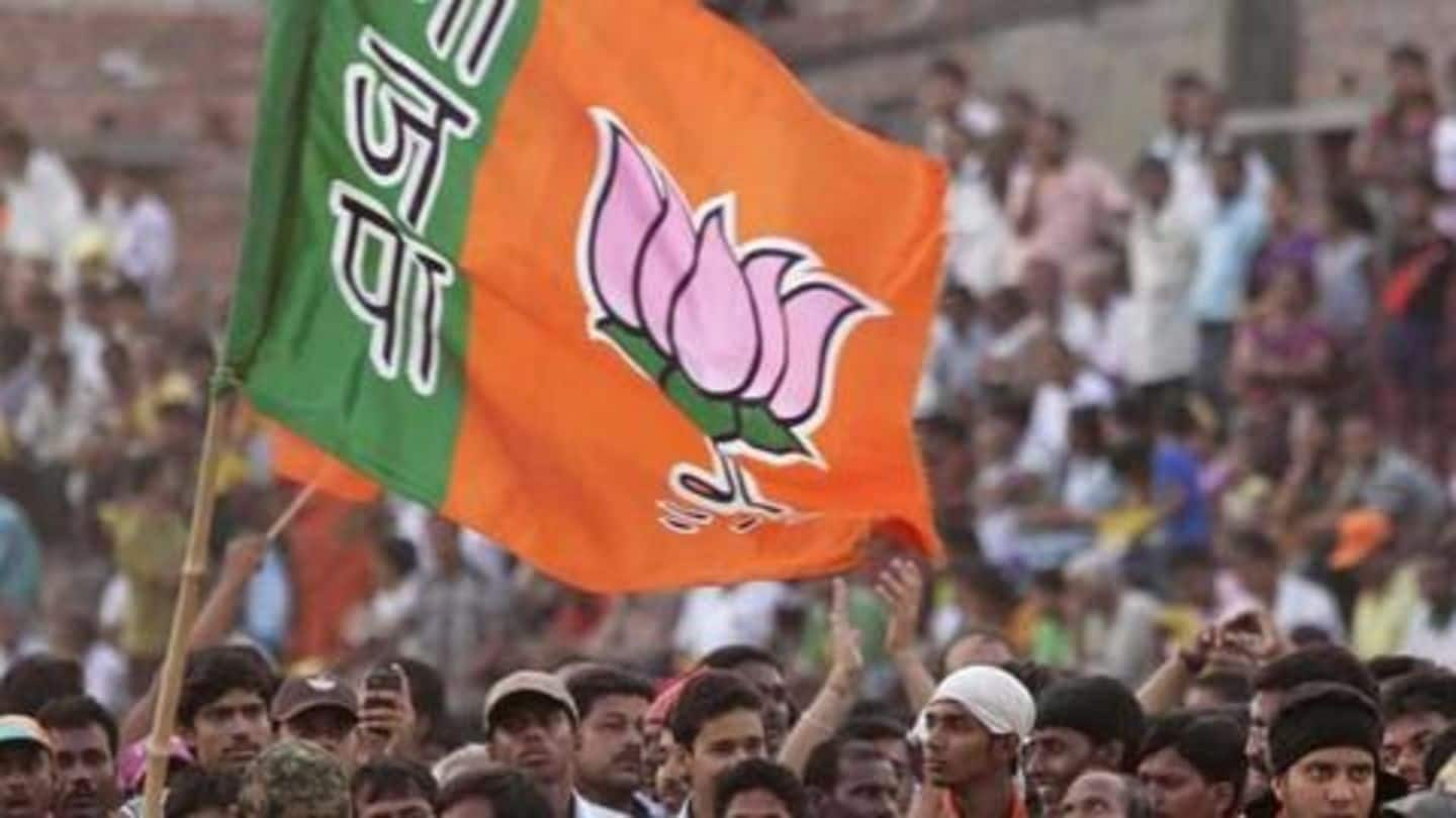 Report: BJP declares Rs. 1,027cr income; Congress data awaited