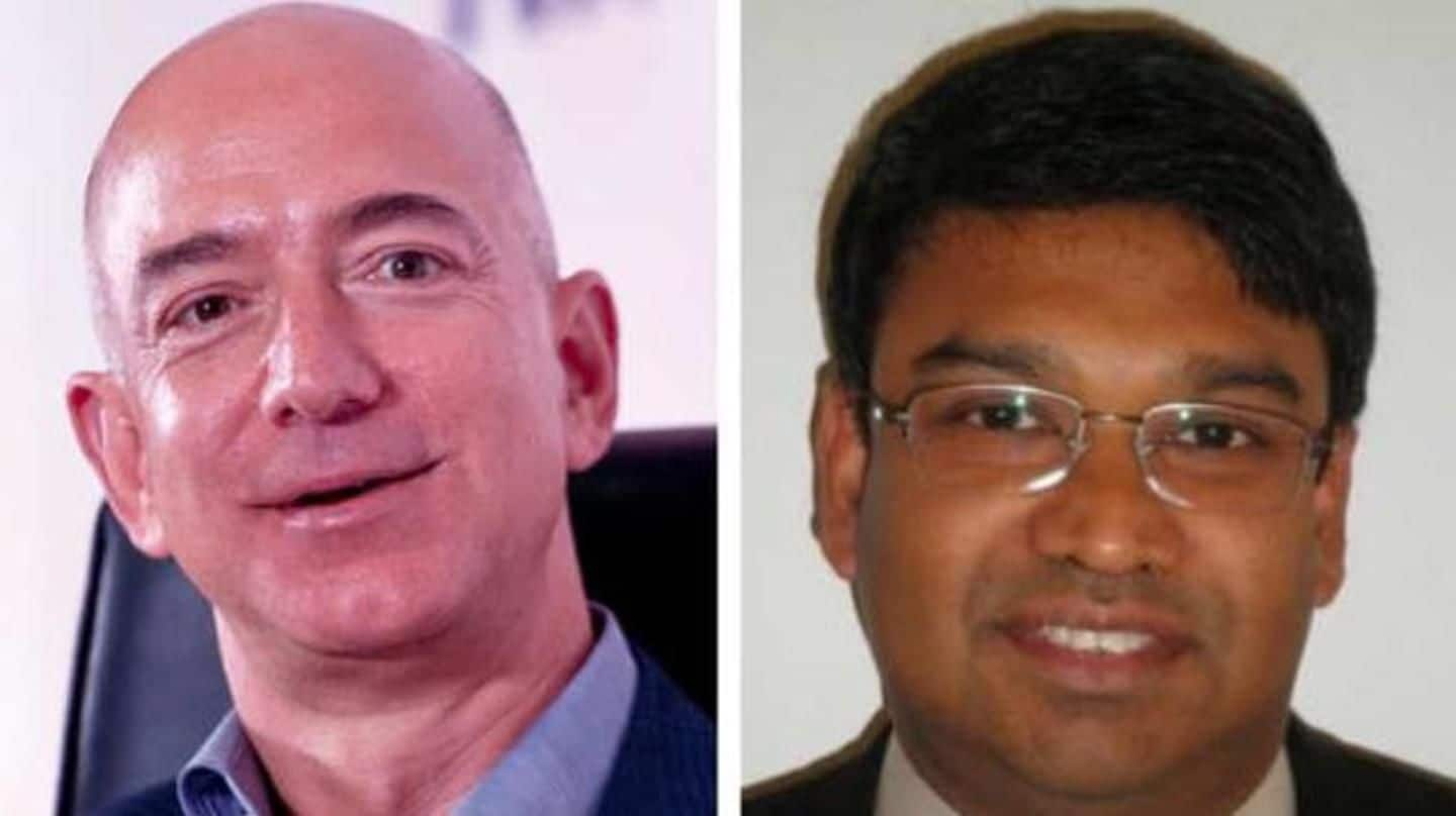 Bezos remembers his Lankan friend who helped him w...