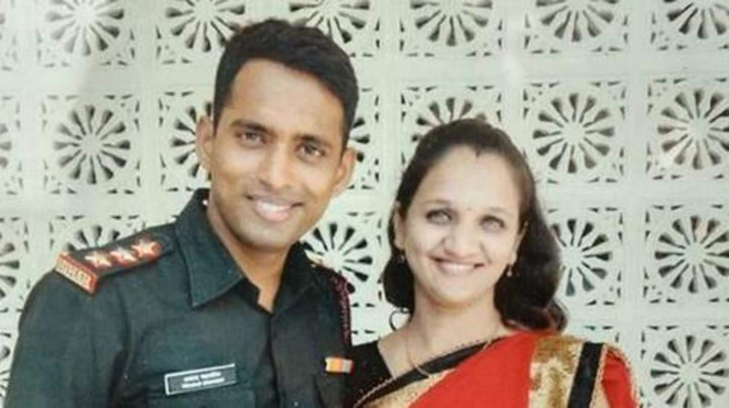Widow of Army Major killed in fire to join Army