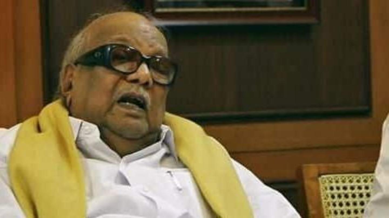 Karunanidhi denied Marina beach burial, violence erupts