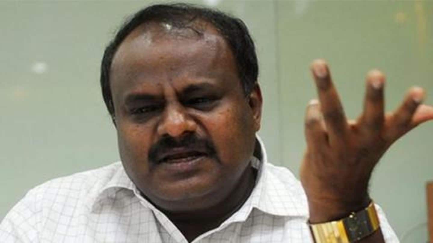 Karnataka: Upset with Congress MLAs' criticism, Kumaraswamy threatens to quit